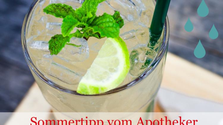 Vor allem im Sommer wichtig: Trinken Sie genug Wasser?
