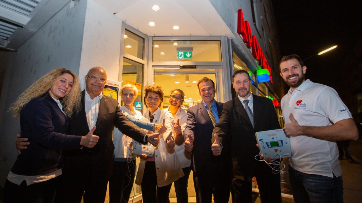 Wien wird herzsicher – Defibrillatoren in Apotheken retten Leben!